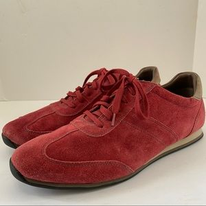 Cole Haan Red Suede Shoes